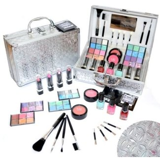 42 delig make up set - makeup box - beautycase - oogschaduw