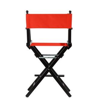 Professionele make up stoel - visagie - regisseurstoel - Regisseursstoel -Koraal- ACTIE