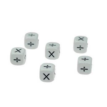 Koplow Games Dobbelsteen vermenigvuldigen (x) en deelsommen (÷)
