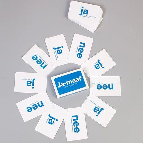Omdenken - anders leren denken Ja-maar dilemmakaarten, leer kiezen!