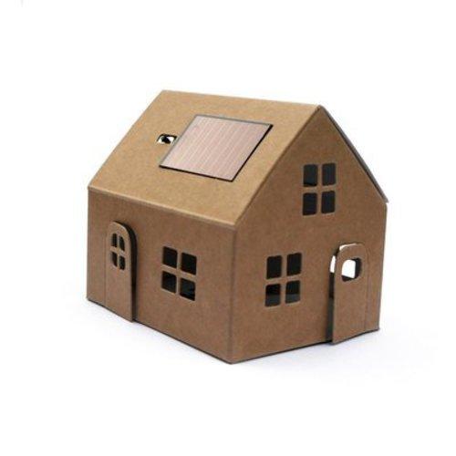 Litogami zonne-energie bouwpakketten Solar bouwpakket huisje kraft