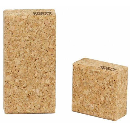 KORXX kurk blokken KORXX Cuboid S - 19 kurk blokken en opbergzak