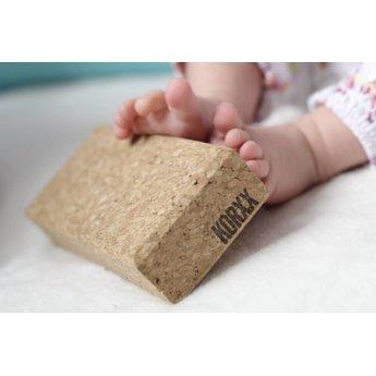 KORXX kurk blokken Tien (10) bouwblokken van kurk set baby