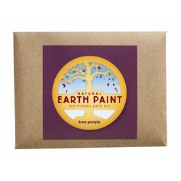 Natural Earth Paint natuurlijke kinderverf en kunstverf Children's Earth Paint per kleur - paars