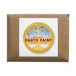Natural Earth Paint natuurlijke kinderverf en kunstverf Children's Earth Paint per kleur -  wit