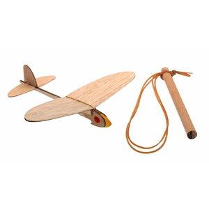 Kids at work kindergereedschap Vliegtuig katapult nummer één