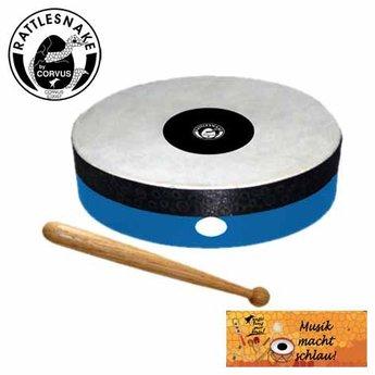 Rattlesnake muziekinstrumenten voor kinderen Handtrommel met natuurvel