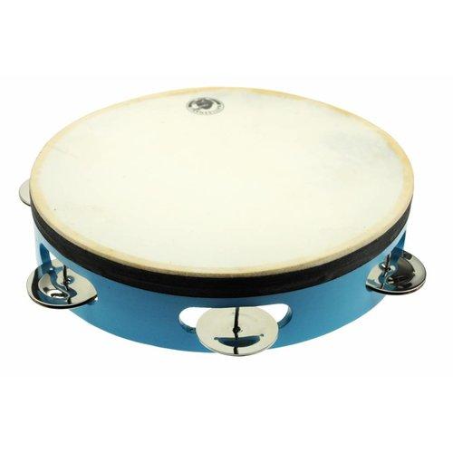 Rattlesnake muziekinstrumenten voor kinderen Trommel tamboerijn van hout met natuurvel