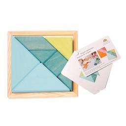 Grimms houten speelgoed Grimms Creatieve set tangram
