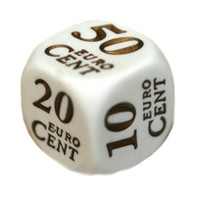Dobbelstenen Euro - 6 stuks