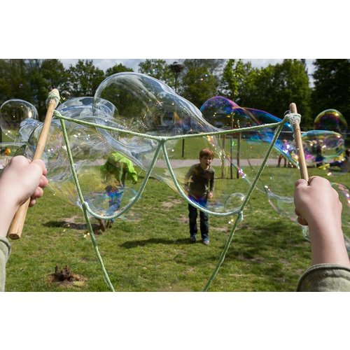 BubbleLab bellenblaasspeelgoed BubbleLab bellenblaas basis voor urenlang speelplezier