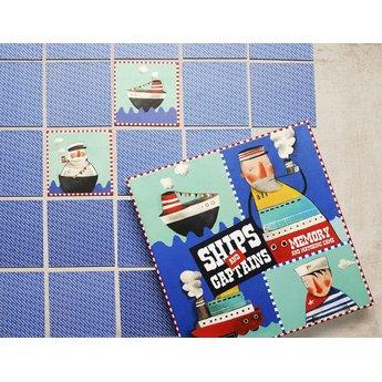 Marbushka fairtrade spellen Ships and Captains - zoek de kapitein bij zijn schip of andersom