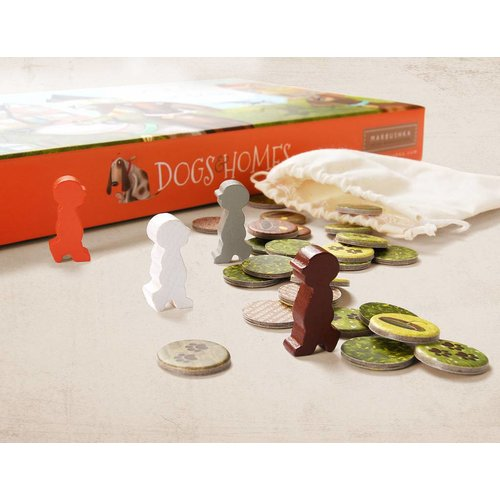 Marbushka fairtrade spellen Dogs and Homes - een vrolijk ecologisch bordspel