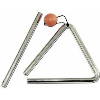 Rattlesnake muziekinstrumenten voor kinderen Triangel klein formaat voor de beginnende muzikant