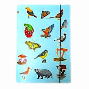 Tringa paintings natuurkaarten Tringa paintings Opbergmap voor herkenningskaarten
