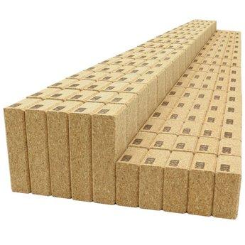 KORXX kurk blokken Cuboid XL - 140 bouwblokken