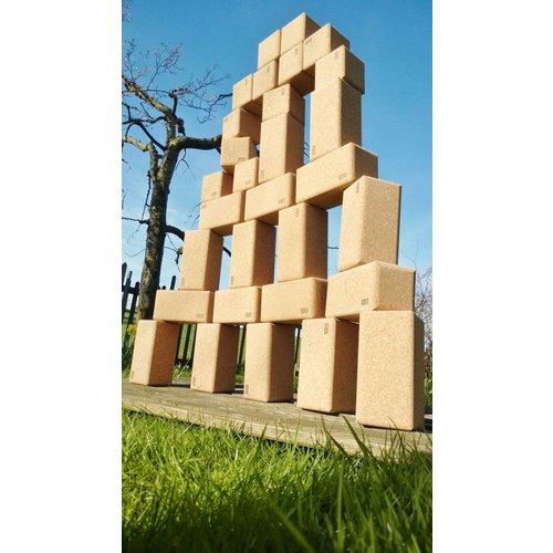 KORXX kurk blokken Big Blocks van kurk 28 stuks