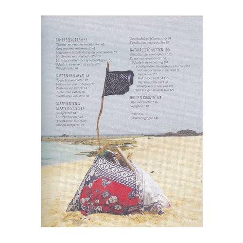 Christofoor kinderboeken Hutten bouwen, schuilplaatsen, forten, tenten