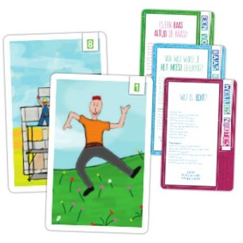 Alles is Rond - de Filosofiejuf Praatplaatjes - prachtige kaarten in beeld om te filosoferen met jonge kinderen