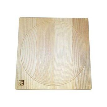 Mader houten tollen Tolbord van massief licht beukenhout 20 x 20 cm