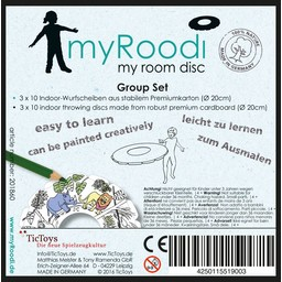 TicToys ecologisch beweegspeelgoed TicToys MyRoodi, groepsbox