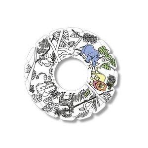 TicToys ecologisch beweegspeelgoed TicToys MyRoodi, een frisbee voor in huis