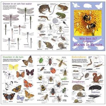 Tringa paintings natuurkaarten Wie ben ik? Compacte zoekkaart dieren in de tuin