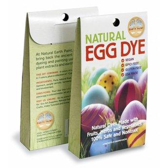 Natural Earth Paint natuurlijke kinderverf en kunstverf Eierverf - natuurlijke veganistische verf van planten voor het beschilderen van eieren