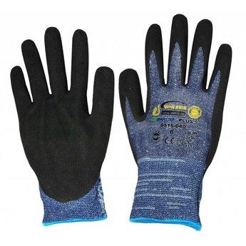 Kids at work Snijbestendige handschoen van gerecycled rubber