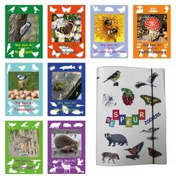 Tringa paintings natuurkaarten De speurzoekers map met acht zoekkaarten