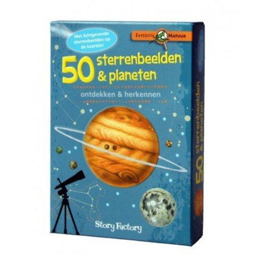 Story Factory Kaartenset sterrenbeelden & planeten