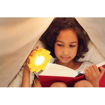 Little Sun Gele zonnebloemlamp Little Sun op zonne-energie