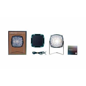 Little Sun Staand lampje 'Diamond' op zonne-energie