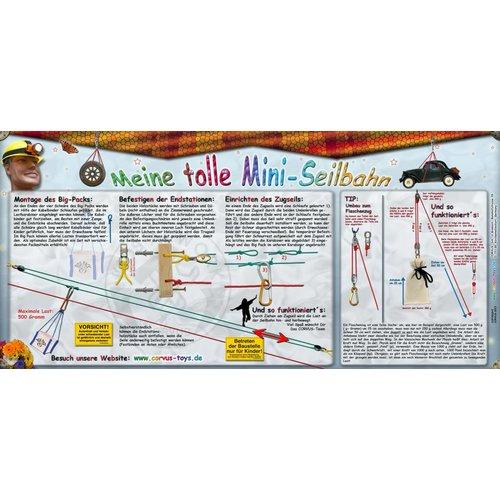 Kids at work kindergereedschap Mini Kabel - overhevelen met touwen in het klein!