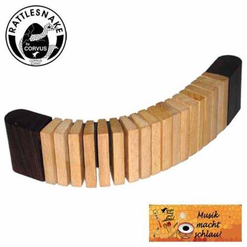 Rattlesnake muziekinstrumenten voor kinderen Ratelstreng