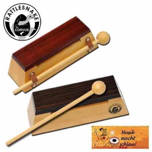 Rattlesnake muziekinstrumenten voor kinderen Toonblok