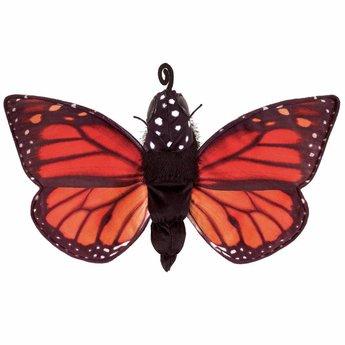 Folkmanis handpoppen en poppenkastpoppen Handpop vlinder - rups - pop