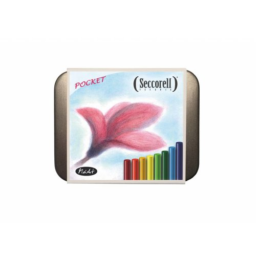 Seccorell tekenmateriaal Seccorell pocket metalen doos