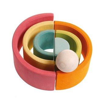 Grimms Grimms 6-delige regenboog, pastel