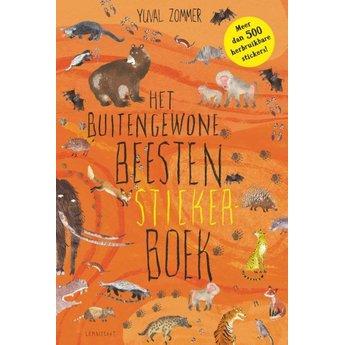 Lemniscaat Stickerboek met buitengewone beesten