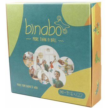tictoys Binabo mix: 240 constructieschijfjes van bioplastic