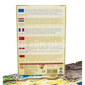 Sunny games - Zonnespel - coöperatieve spellen ZooMemo - het coöperatieve memoriespel
