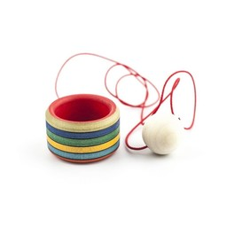Mader houten tollen Bilboquet - Cup and ball