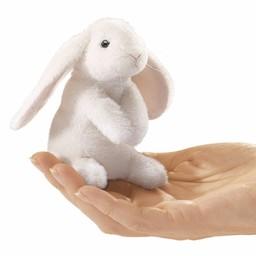 Folkmanis handpoppen en poppenkastpoppen Vingerpopje konijn hangoor