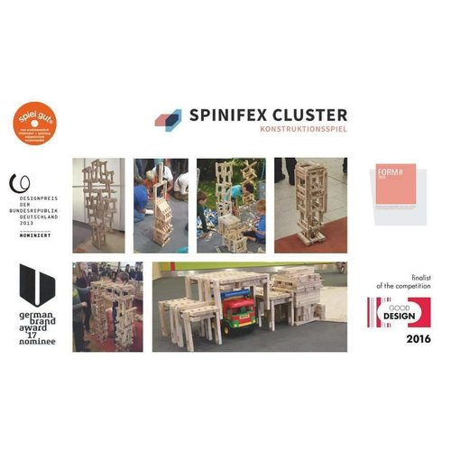 Spinifex Cluster constructiespeelgoed Spinifex Cluster starter 99 KITA
