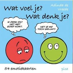 Pica Uitgeverij kinderboeken Wat voel je? wat denk je?