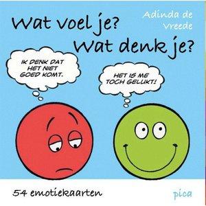 Pica Uitgeverij kinderboeken Uitgeverij Pica Wat voel je? wat denk je?
