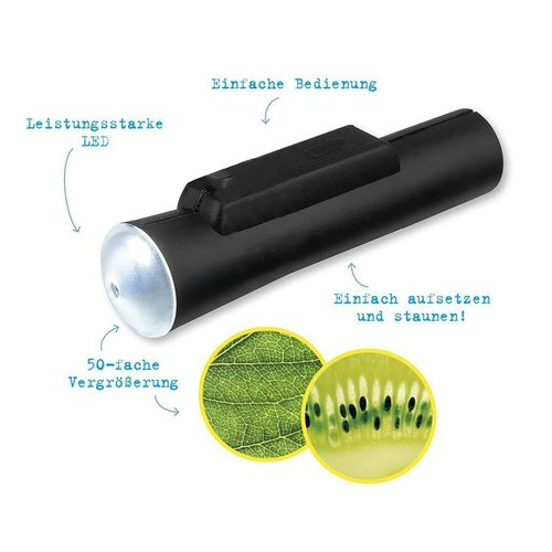 Moses -expedition natur Zak microscoop