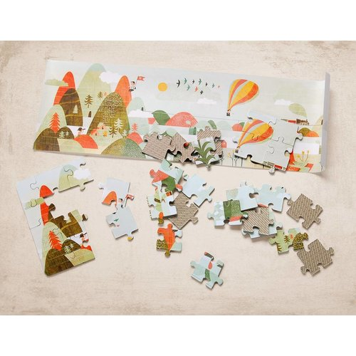 Marbushka fairtrade spellen Colourful world - Hello Nature