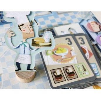 Marbushka fairtrade spellen Chefs - bordspel waarin je de lekkerste maaltijden in de horecakeuken maakt
